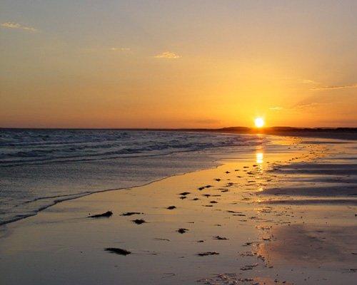 Fotos de puestas de sol sobre el mar 27