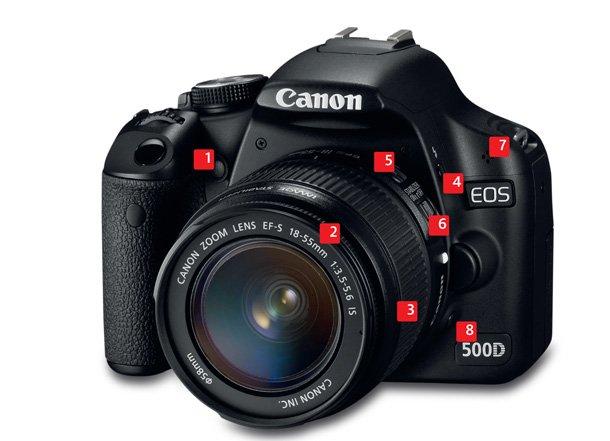 Funciones de la cámara Canon 500D que todo fotógrafo debe aprender