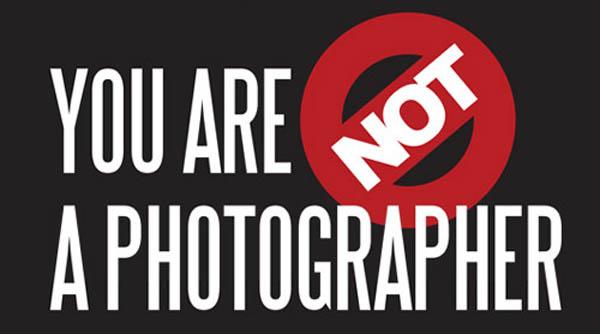 Tú NO eres un fotógrafo!