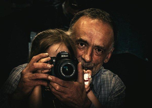 Fotografiando la sabiduría de nuestros mayores!