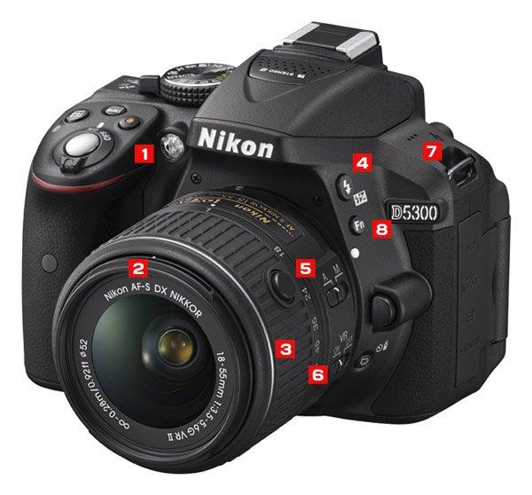 Funciones de la cámara Nikon D5300 que todo fotógrafo debe aprender