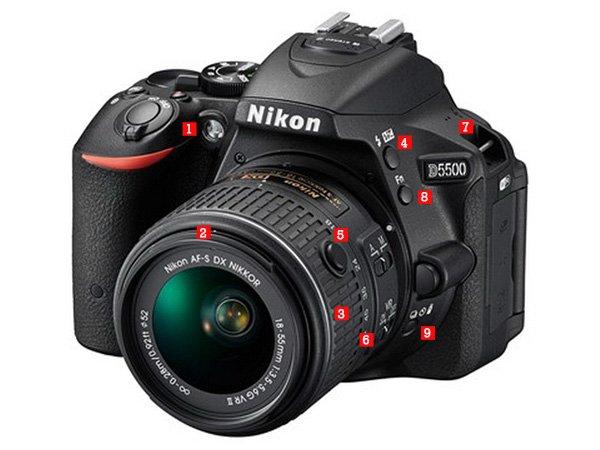 Comparativa de la Nikon D5500 Vs D5300 ventajas y funciones