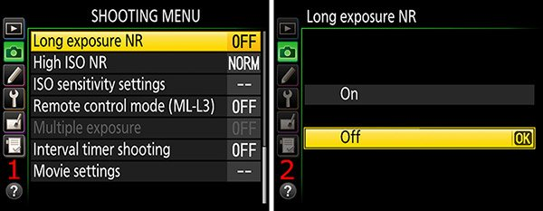 ajuste y configuracion nikon
