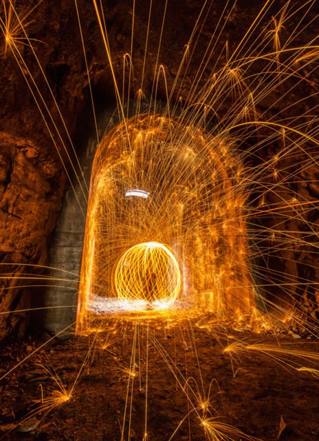 Aprende a hacer las famosas fotografías Steel Wool Spinning