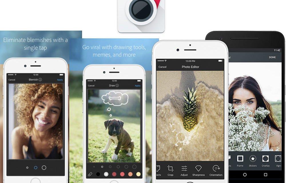 Conoce las 5 mejores apps para editar tus fotos.