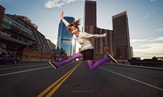 Aprende a lograr increíbles retratos de personas saltando