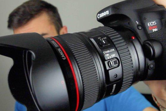 Nueva Cámara Réflex Canon EOS Rebel T6i con Wifi y NFC