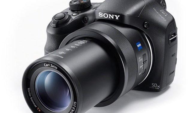 Nueva Sony HX350 con Super Zoom 50x