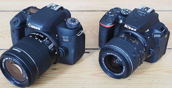 Recomendaciones para tener tu primera cámara réflex, cual debes comprar: ¿Nikon o Canon?
