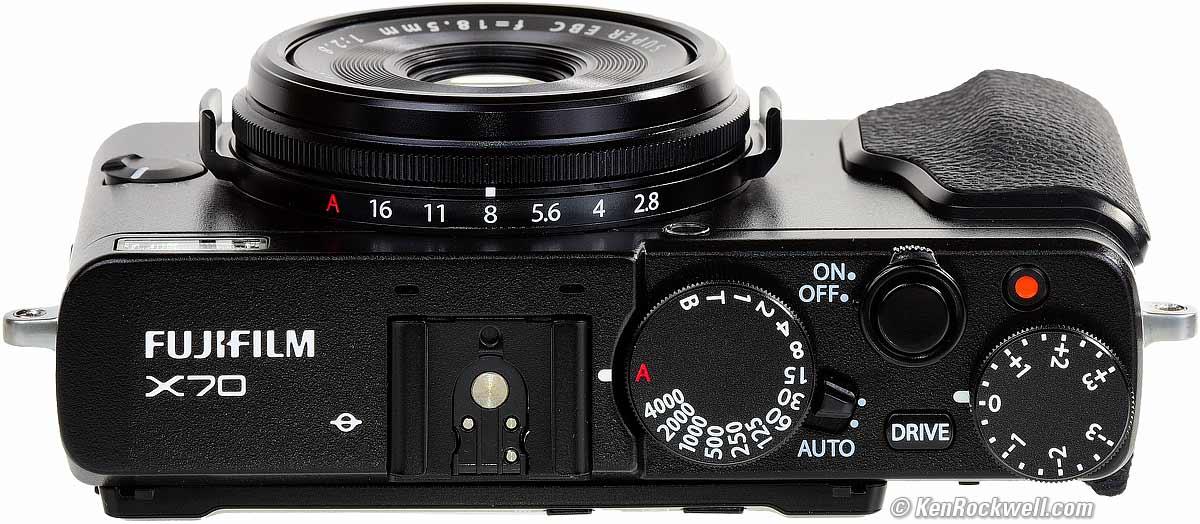 Fujifilm X70, una cámara compacta tipo réflex