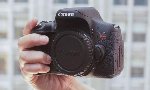 Funciones de la Canon Rebel T6i que todo fotógrafo debe aprender