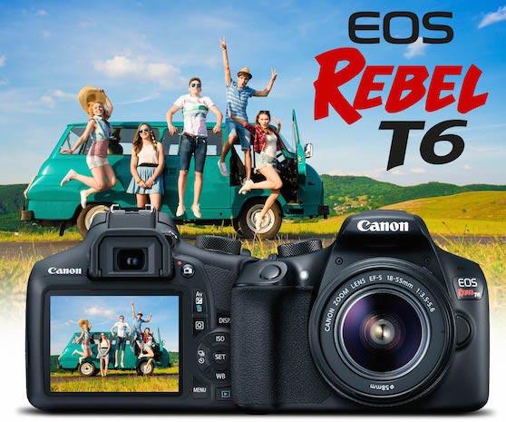 Funciones De La Camara Canon Rebel T6 Que Debes Aprender